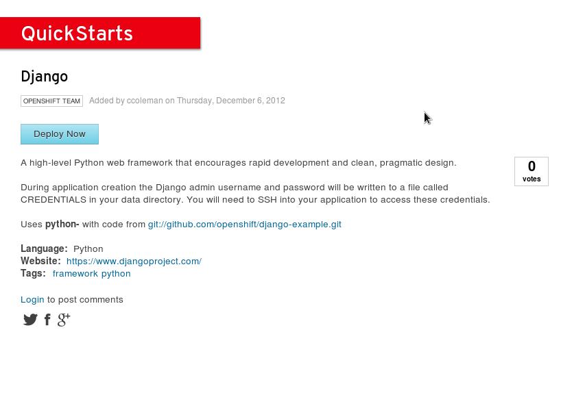 Screenshot-Django-Quickstart